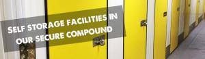 Yellow doored indoor storage facilities