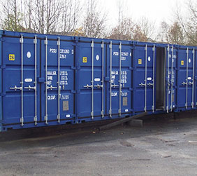 external containers self storage cullompton
